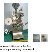 High Speed Tea Bag Making Machine