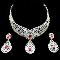Diamond Necklace Set (DS-2109)