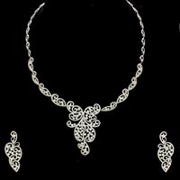 Diamond Necklace Set (DS-2157)
