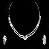 Diamond Necklace Set (DS-308)