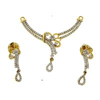 Diamond Pendant Set (DP-2330)