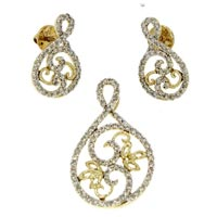 Diamond Pendant Set (DP-2356)