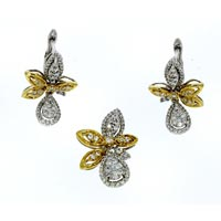 Diamond Pendant Set (DP-2452)