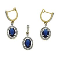 Diamond Pendant Set (DP-2467)