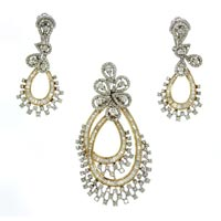 Diamond Pendant Set (DP-2469)