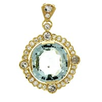 Diamond Pendants (DP-2504)