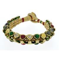 Kundan Polki Bracelets (KB-2093)