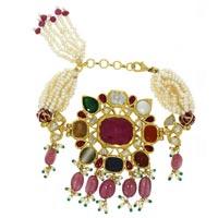 Kundan Polki Bracelets (KB-2127)
