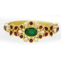 Kundan Polki Bracelets (KB-2131)