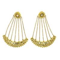 Kundan Polki Earrings (KE-2175)