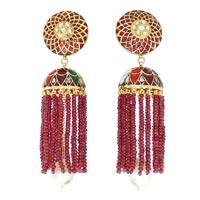 Kundan Polki Earrings (KE-2208)