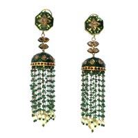 Kundan Polki Earrings (KSE-71)