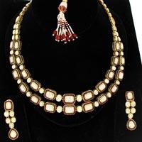 Kundan Polki Necklace (KSE-2103)
