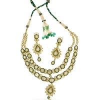 Kundan Polki Necklace (KSE-2113)
