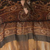 Chiffon Thin Fabric Tops (ET50199VL-6)