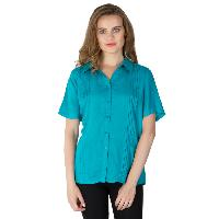 Green Pleated Shirts (AM030321-2)
