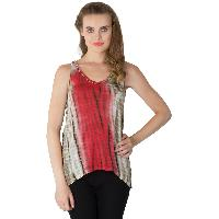 Knitted Cotton Sleeveless Tops (RN134190-2)
