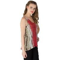 Knitted Cotton Sleeveless Tops (RN134190-4)