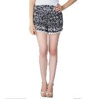 Ladies Border Lace Shorts (5983-2)