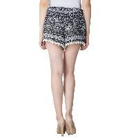 Ladies Border Lace Shorts (5983-5)
