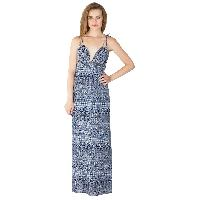 Ladies Polyester Strappy Maxi Gowns (ED10710VC-1)