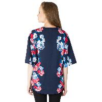 Ladies Printed Blue Shrugs (6016500 BLUE-5)