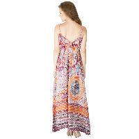 Ladies Printed Gowns (ED12446VZ-4)