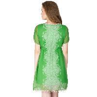 Poly Chiffon Short One Piece Dresses (A2434F-5)