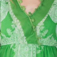 Poly Chiffon Short One Piece Dresses (A2434F-6)