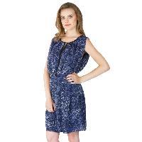 Poly Georgette Short One Piece Dresses (322238D-3)