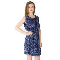 Poly Georgette Short One Piece Dresses (322238D-4)