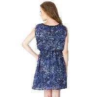 Poly Georgette Short One Piece Dresses (322238D-5)