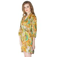 Poly Stain Short One Piece Dresses (AM160606-2)
