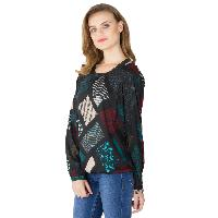 Polyester Digital Printed Tops (64-0597-3)