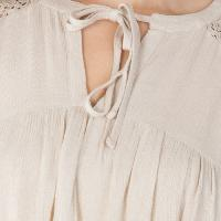 Solid Peach 3/4th Sleeves Tops (6033000PH-6)