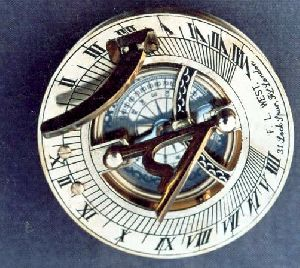 HE-313C-6 Antique Compass