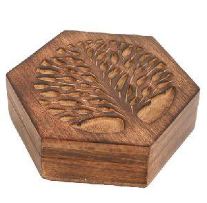 HHC01 Antique Jewelry Box