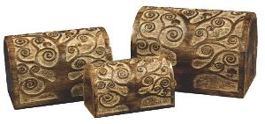 HHC06 Antique Jewelry Box