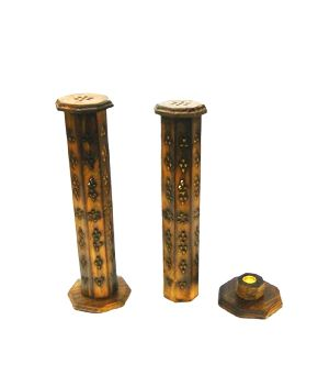 HHC219 Wooden Incense Stick Tower