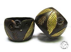HHC294 Wooden Yarn Bowl