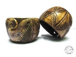 HHC295 Wooden Yarn Bowl