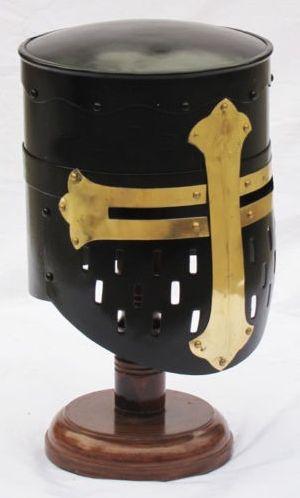 HHC49 Metal Medieval Armour Helmet  .
