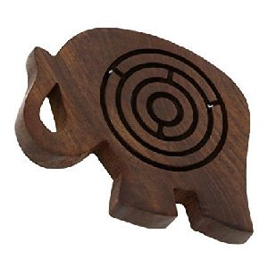 Wooden Labyrinth Games