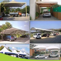 Car Parking Tensile Structure 07
