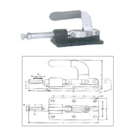 Push Pull Action Centre Base Low Heigh Toggle Clamp