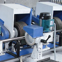 Round Tub Polishing Machine