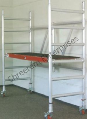 Folding Scaffold Of Aluminium Alloy with Extension Assembly