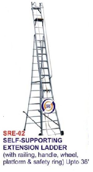 SRE-02 SELF SUPPORTING EXTENSION LADDER