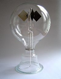 Crookes Radiometer Double
