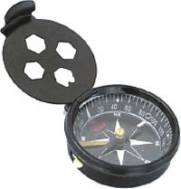 POCKET COMPASS WITH LOCK